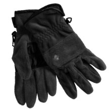 Columbia Sportswear Arctic Armour Gloves - Fleece (For Women) in Black - Closeouts