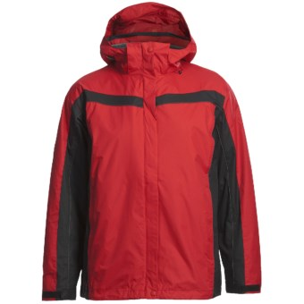 Columbia Sportswear Arctic Trellis Jacket - 3-in-1 (For Plus Size Women) in Intense Red/Black/Shade