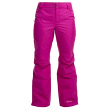 Columbia Sportswear Arctic Trip Ski Pants - Waterproof, Insulated (For Women) in Groovy Pink - Closeouts