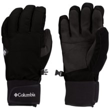 Columbia Sportswear Armoury Col Omni-Heat® Gloves - Waterproof, Insulated (For Men) in Black - Closeouts