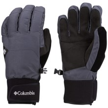 Columbia Sportswear Armoury Col Omni-Heat® Gloves - Waterproof, Insulated (For Men) in Graphite - Closeouts