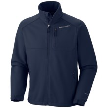Columbia Sportswear Ascender II Soft Shell Jacket (For Big and Tall Men) in Collegiate Navy - Closeouts