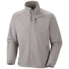 Columbia Sportswear Ascender II Soft Shell Jacket (For Big and Tall Men) in Flint Grey - Closeouts