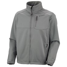 Columbia Sportswear Ascender II Soft Shell Jacket (For Big and Tall Men) in Sedona Sage - Closeouts