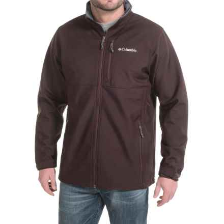 Columbia Sportswear Ascender Omni-Shield® Soft Shell Jacket (For Tall Men) in New Cinder - Closeouts