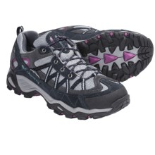 Columbia Sportswear Ashlane Low Omni-Tech® Trail Shoes - Waterproof (For Women) in Light Grey/Patina - Closeouts