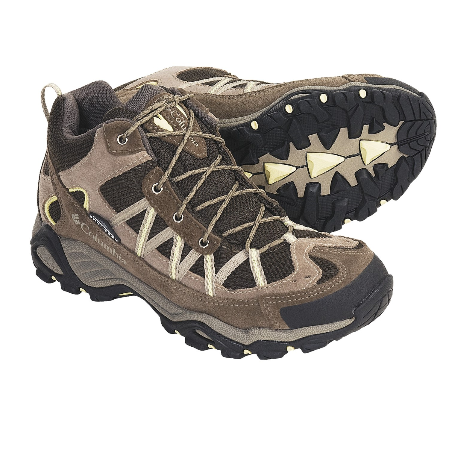 Columbia Sportswear Ashlane Mid Hiking Boots (For Women) in Mud