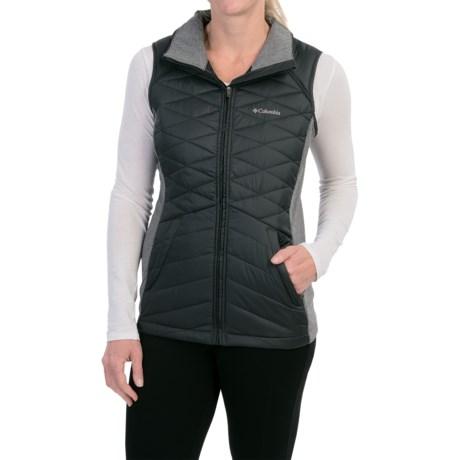 Columbia Sportswear Aurora's Glow Hybrid Vest - Insulated (For Women) in Black