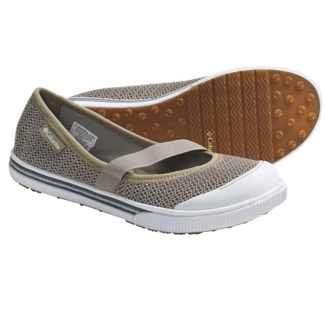 Columbia Sportswear Avery Mary Jane Shoes (For Women) in Fossil/Citronelle