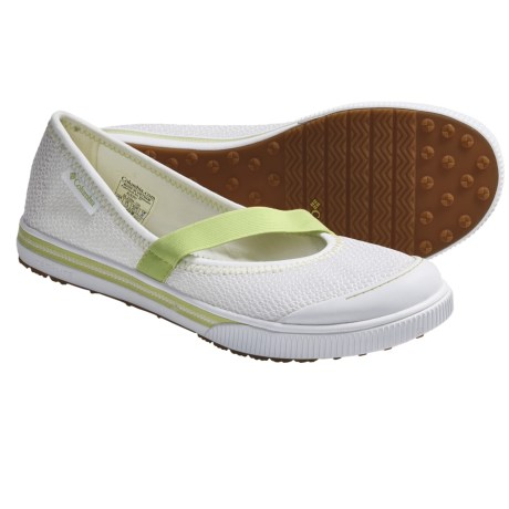 Columbia Sportswear Avery Mary Jane Shoes (For Women) in White/Lemongrass
