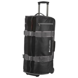 Columbia Sportswear Axel 68 Rolling Duffel Bag in Black