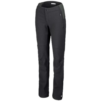 Columbia Sportswear Back Beauty Passo Alto Omni-Heat® Pants - Soft Shell (For Women) in Black
