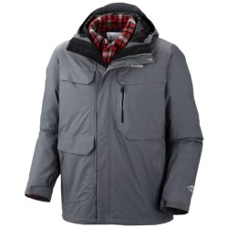 Columbia Sportswear Back to Hells Mountain Omni-Heat® Jacket - 3-in-1, Waterproof (For Men) in Grpahite