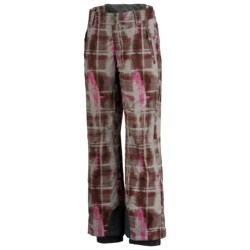 Columbia Sportswear Back Up Beat Omni-Heat® Snow Pants - Insulated (For Women) in Grill Plaid Print