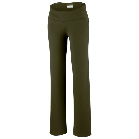 Columbia Sportswear Back Up Layer First Pants (For Women) in Greenscape