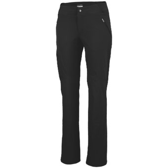Columbia Sportswear Back Up Passo Alto Pants - UPF 50, Straight Leg (For Women) in Black