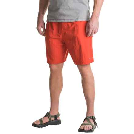 Columbia Sportswear Backcast III Water Shorts - UPF 50, Built-In Briefs (For Big Men) in Sail Red - Closeouts