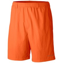 Columbia Sportswear Backcast III Water Shorts - UPF 50, Built-In Briefs (For Big Men) in Spark Orange - Closeouts