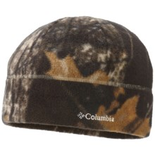 Columbia Sportswear Baddabing Beanie Hat - Fleece (For Men and Women) in Timberwolf Camo - Closeouts