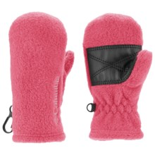 Columbia Sportswear Baddabing Fleece Mittens (For Toddlers) in Afterglow - Closeouts