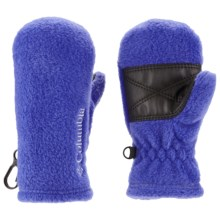 Columbia Sportswear Baddabing Fleece Mittens (For Toddlers) in Light Grape - Closeouts