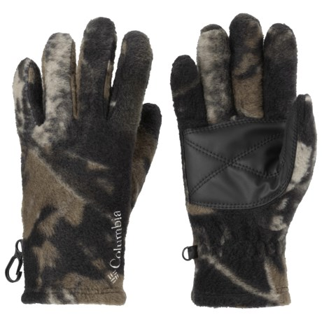 Columbia Sportswear Baddabing Gloves - Fleece (For Kids) in Timberwolf