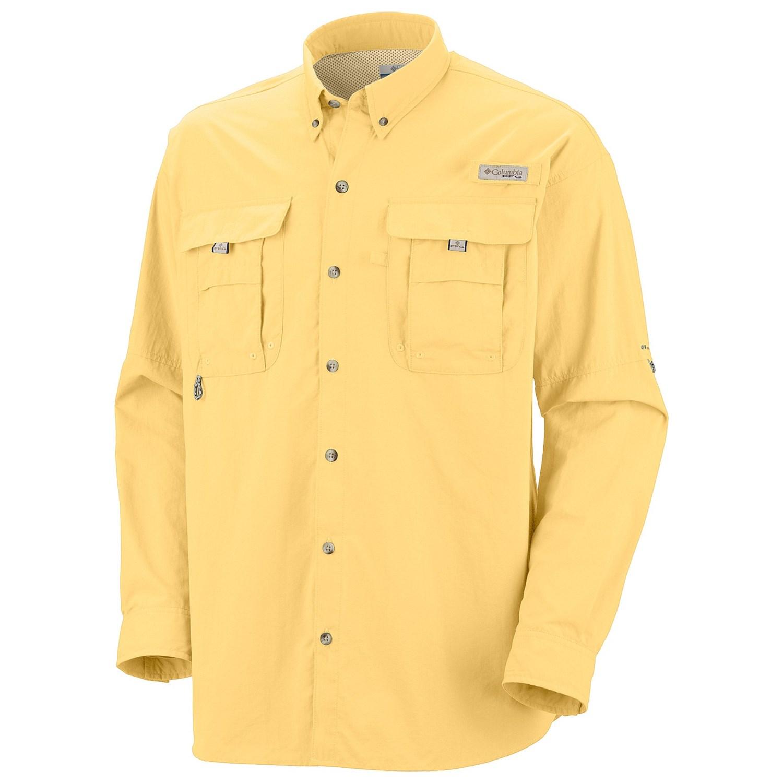 Columbia Sportswear Bahama Ii Fishing Shirt Upf 30 Long
