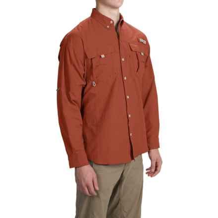 Columbia Sportswear Bahama II Fishing Shirt - UPF 30, Long Sleeve (For Big and Tall Men) in Tribal - Closeouts