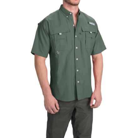 Columbia Sportswear Bahama II Shirt - UPF 30, Short Sleeve (For Big Men) in Pond - Closeouts