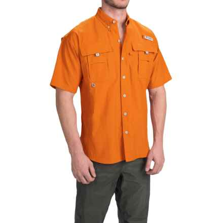 Columbia Sportswear Bahama II Shirt - UPF 30, Short Sleeve (For Big Men) in Valencia - Closeouts