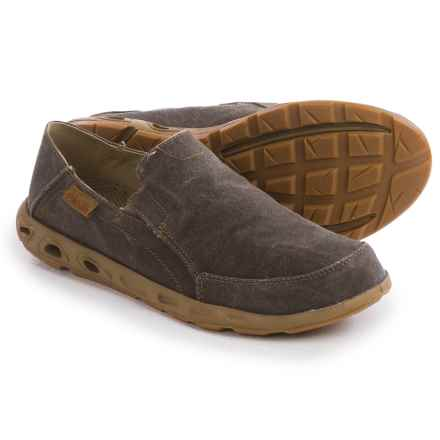 Columbia Sportswear Bahama Vent II Shoes - Slip-Ons (For Men) in Cordovan/Desert Sun - Closeouts