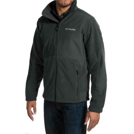 Columbia Sportswear Ballistic III Fleece Jacket (For Men) in Black - Closeouts
