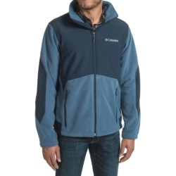 Columbia Sportswear Ballistic III Fleece Jacket (For Men) in Night Tide/Collegiate Navy