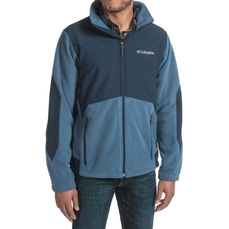 Columbia Sportswear Ballistic III Fleece Jacket (For Men) in Night Tide/Collegiate Navy