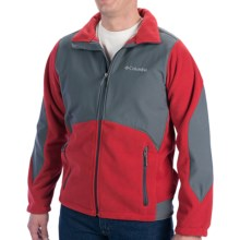 Columbia Sportswear Ballistic III Omni-Shield® Fleece Jacket (For Big and Tall Men) in Rocket - Closeouts