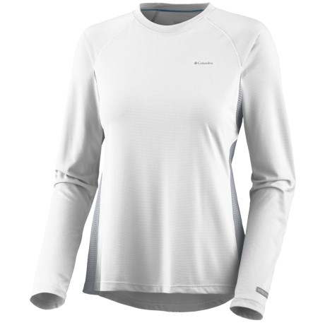 Columbia Sportswear Base Layer Bug Shield Top - Lightweight, Long Sleeve (For Women) in White