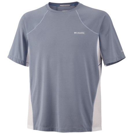 Columbia Sportswear Base Layer Insect Blocker® Shirt - Short Sleeve (For Men) in Beacon