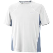 Columbia Sportswear Base Layer Insect Blocker Shirt - Short Sleeve (For Men) in White - Closeouts