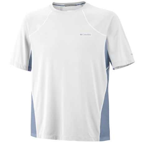 Columbia Sportswear Base Layer Insect Blocker® Shirt - Short Sleeve (For Men) in White