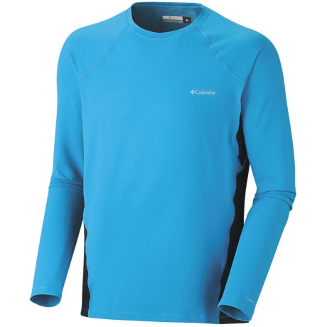 Columbia Sportswear Base Layer Omni-Heat® Top - Midweight, Long Sleeve (For Men) in White