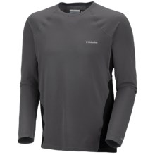Columbia Sportswear Base Layer Omni-Heat® Top - Midweight, Long Sleeve (For Men) in Grill - Closeouts