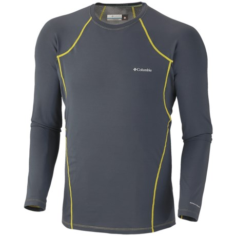 Columbia Sportswear Base Layer Omni-Heat® Top - Midweight, Long Sleeve (For Men) in Mystery