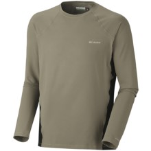 Columbia Sportswear Base Layer Omni-Heat® Top - Midweight, Long Sleeve (For Men) in Sage - Closeouts