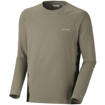 Columbia Sportswear Base Layer Omni-Heat® Top - Midweight, Long Sleeve (For Men) in Sage