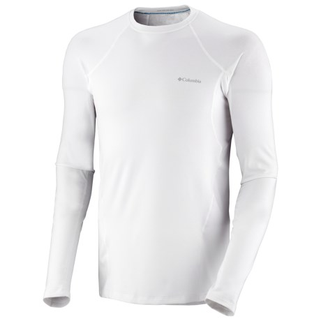 Columbia Sportswear Base Layer Omni-Heat® Top - Midweight, Long Sleeve (For Men) in Dark Compass