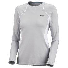 Columbia Sportswear Base Layer Omni-Heat® Top - Midweight, Long Sleeve (For Women) in Cool Grey - Closeouts