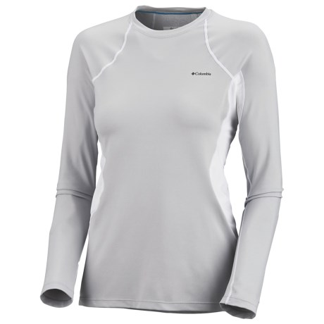 Columbia Sportswear Base Layer Omni-Heat® Top - Midweight, Long Sleeve (For Women) in Cool Grey