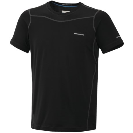 Columbia Sportswear Base Layer Top - Lightweight, Short Sleeve (For Men) in Compass Blue