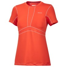 Columbia Sportswear Base Layer Top - Lightweight, Short Sleeve (For Women) in Bronco - Closeouts