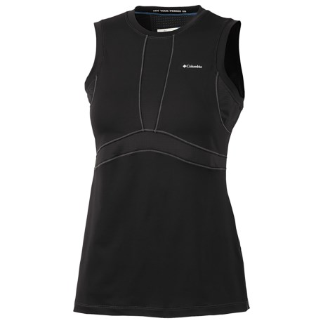 Columbia Sportswear Base Layer Top - Lightweight, Sleeveless (For Women) in Black